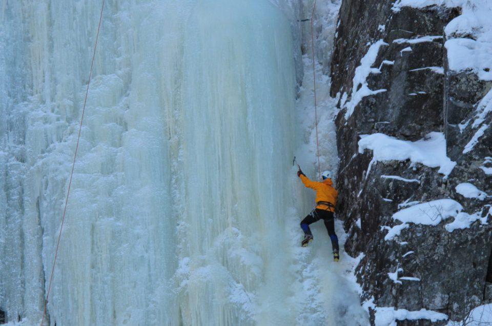 Wspinaczka lodowa w Tyrolu