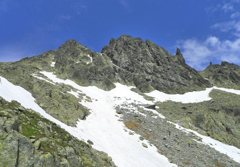 Smoczy Szczyt – południowy filar topo